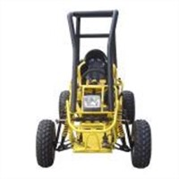 150CC Go Kart with CE (G-150 Single-cylinder Air-cooled 4-Strokes Auto-clutch/ Outside-Reverse)