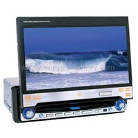 1-Din Car DVD Player with 7