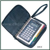 Notebook with Organizer Calculator
