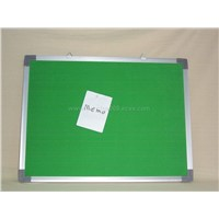 Memo Board with Aluminum Frame