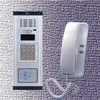 Audio door phone for apartment(in network system)