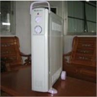 Oil filled heater