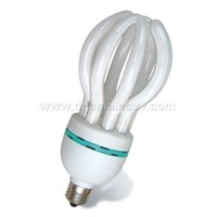 Lotus shape energy saving lamp
