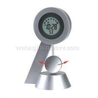 Pendulum Clock w/ Digital Calendar
