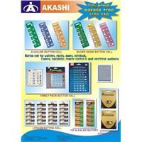 Button Cells & Lithium Batteries