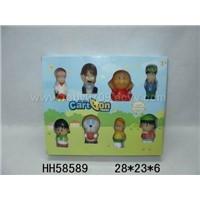 Soft Plastic Cartoon Toys