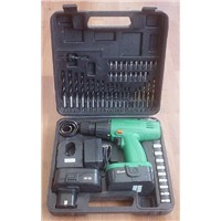 18v Cordless Drill with 56pc Accessories