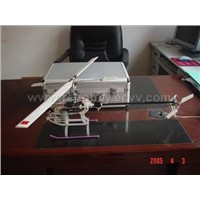 R/C electric helicopter