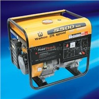 WA5500/ WA5500E EPA and CE Approved Generators with Rated Voltage of 110/220V