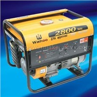 WA2800 EPA and CE Approved Generators with Engine Model WG160