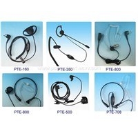 Earphone/Headset for Walkie Talkie and Two Way Radio