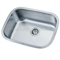 Single-bowl Stainless Steel Sink