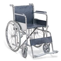 steel foldable wheelchair