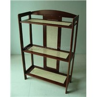 Rattan Book Shelf