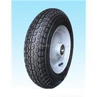 Wheelbarrow Tyre and Wheel