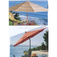 wooden beach umbrella/promotion umbrella/Ads umbrella
