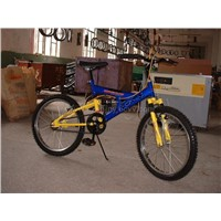 childrens bicycle and tricycle