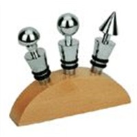 Stainless Steel Bottle Stopper, Wine Opener, Can Opener and Other Kitchen Appliance