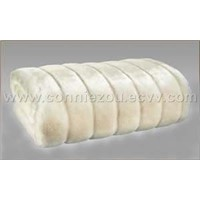 Mink faux fur fabric