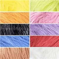 Shaggy faux fur fabric
