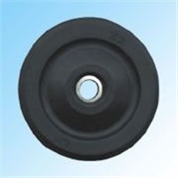 Guiding wheel with core