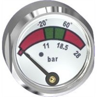 pressure gauge used in fire extinguisher