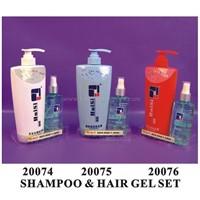 shampoo and hair gel set