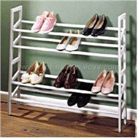 EXPANDABLE/STACKABLE SHOE RACK (houseware)