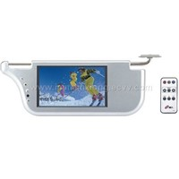 TFT car sun visor LCD TV/monitor