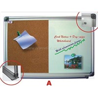 Aluminum Framed Dual Notice Board