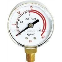 Acetylene & Oxygen Pressure Gauge