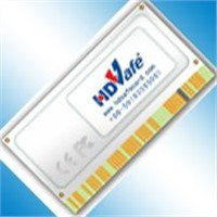 HDSafe Recovery Card with CE & FCC Certification(Computer,Electrical,Date Safety,Disk)