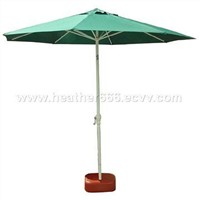 2.7m X 8 Aluminum Windproof Patio Umbrella with Title
