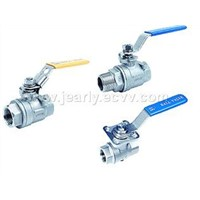 STAINLESS STEEL BALL VALVE SCREWED ENDS