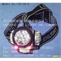 Rechargeable 12 Corlored LED Headlamp
