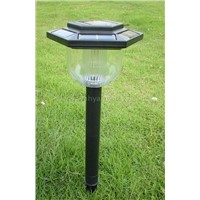 Plastic Solar Garden Light