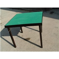 Foldable Wooden Poker Table