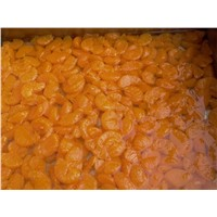 Canned mandarin-oranges in light/heavy syrup or natural juice