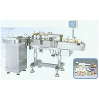 Round-Bottle Labelling Machine with Feeder Table