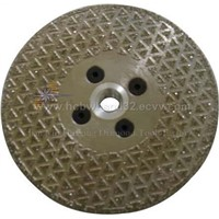 Diamond Saw Blades with Flange