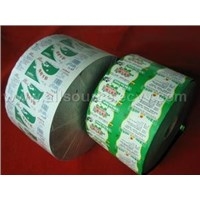 Laminate film of multi-layer paper and plastic for milk & juice packaging