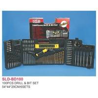 Sell 100pcs Drill & Bits Set-drill,Drill Bit,Laser Level,Rachet Screwdriver,Twist Drill Bit,Wo