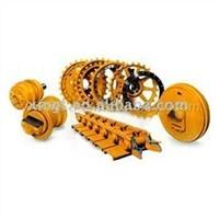 Bottom Roller, Top Roller, Sprocket, Idler and Track Link Assembly