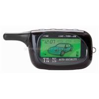 Super Long Range Two-way LCD Car Alarm with Engine Starter Model (Golden-eagle)