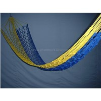 Nylon net hammock w/o wood bars