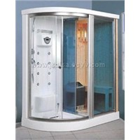 Steam Shower and Dry Sauna Cabin