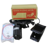 Home sewing machine motor