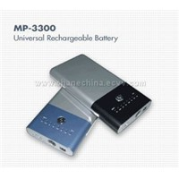 Li-polymer External Battery for Laptop,Portable DVD Players,Etc