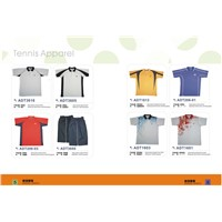 Tennis and Badminton shirts