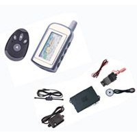 Two Way Car Alarm with Remote Engine Starter Function